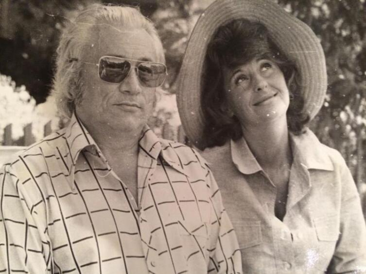 Алла и Юрий Нагибины. 1973–1975 гг.