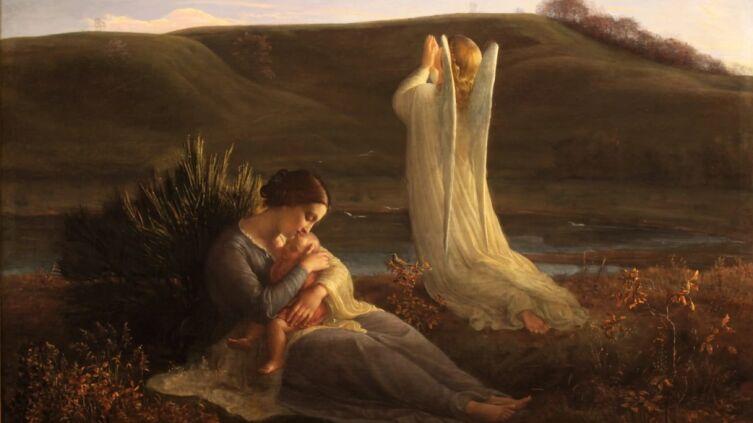 Луи Жанмо, «Поэма души 3. Ангел и мать», 1854 г.