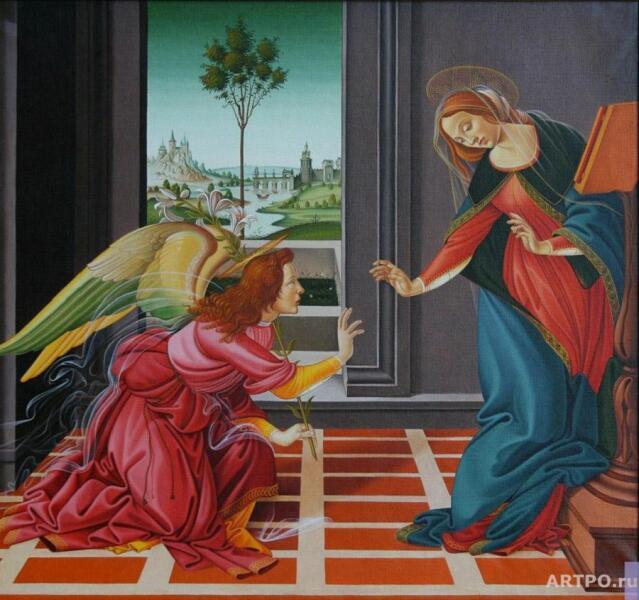Сандро Боттичелли, «Благовещение»