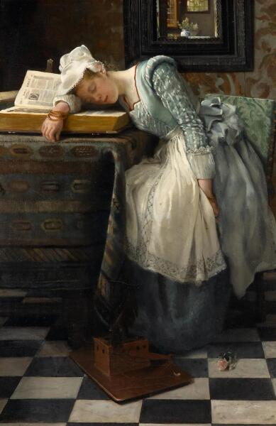 Лаура Тереза Альма-Тадема, «Мир сновидений», 1876 г.