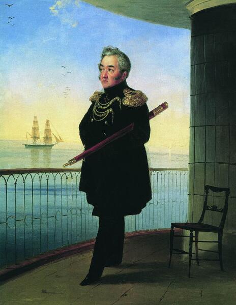 И. К. Айвазовский, «Портрет вице-адмирала М. П. Лазарева», 1839 г.