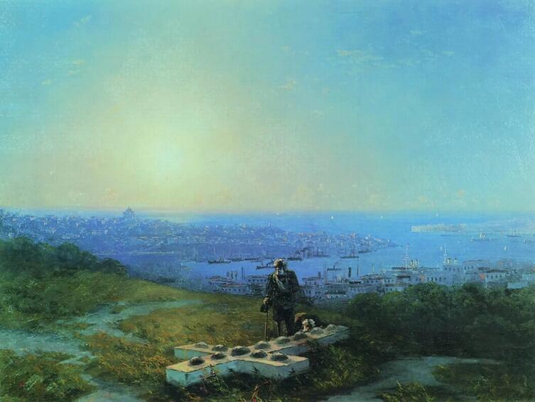 И. К. Айвазовский, «Малахов курган (Место, где смертельно был ранен Корнилов)», 1893 г.