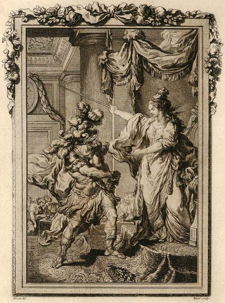 Николас Понсе (по оригиналу Шарля Монне), «Улисс и Цирцея», 1800-е гг.