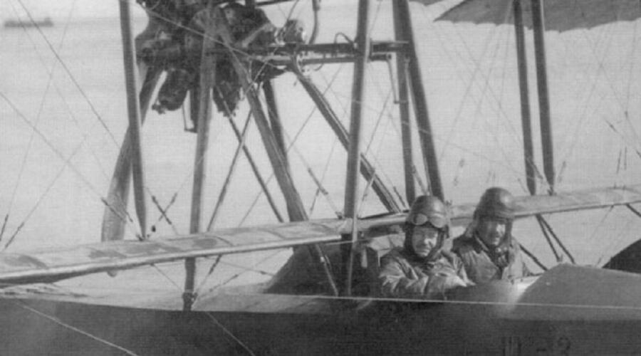 Летающая лодка Григоровича М-3