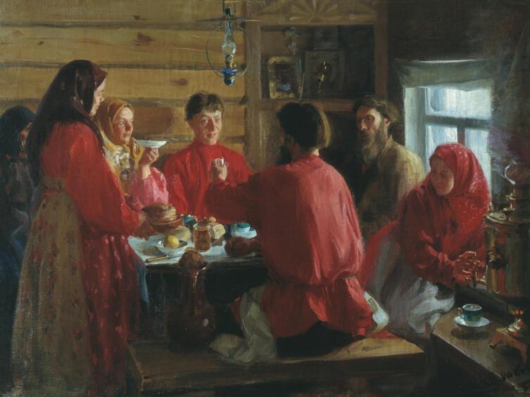 И. С. Куликов, «Чаепитие»