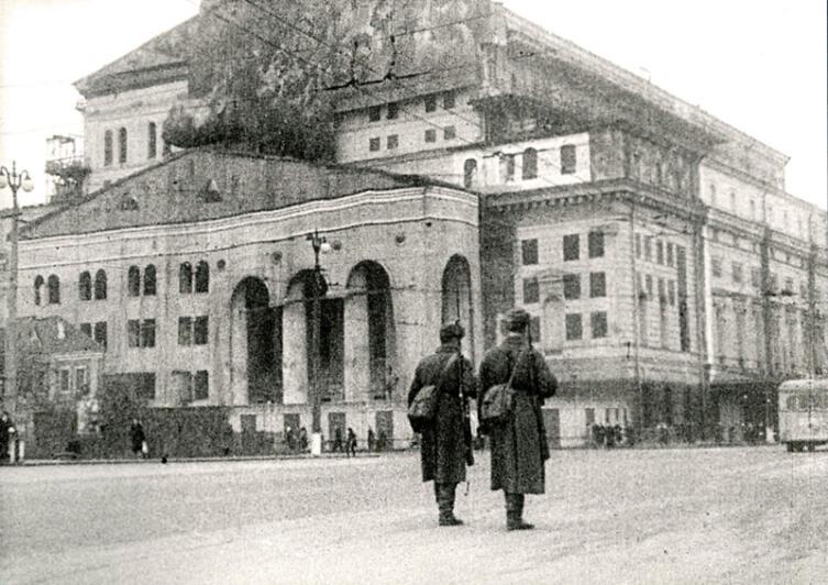Маскировка Большого Театра, 1941 г.