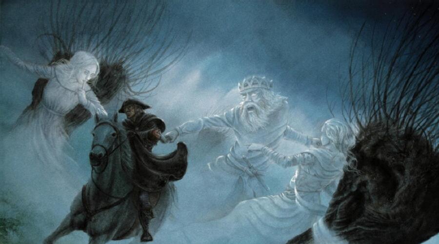 Иллюстрация к балладе «Лесной царь» в переводе В. Жуковского