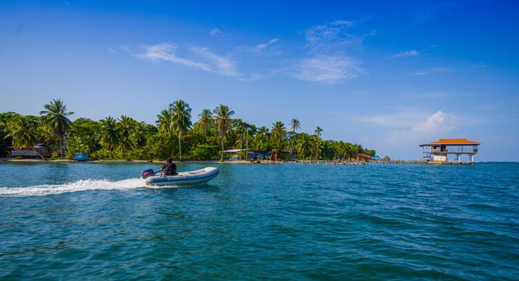 Остров Колон в Панаме