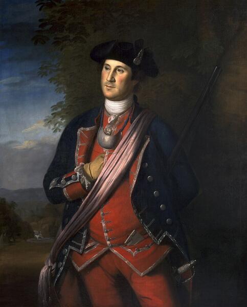 Чарльз Пил, «Джордж Вашингтон» 1772 г.