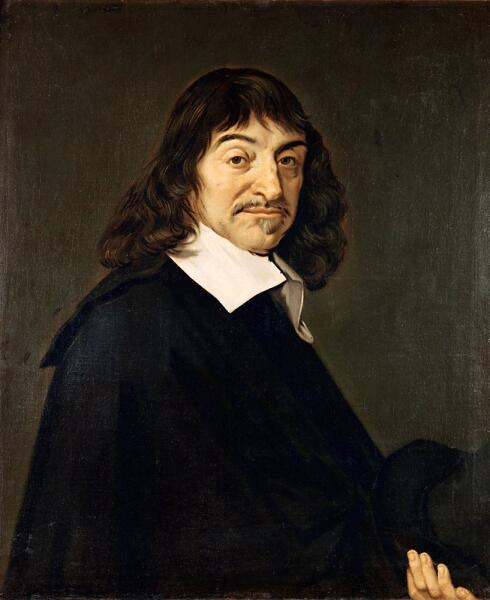 Рене Декарт, портрет кисти Франца Халса