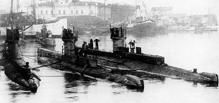 Подводные лодки типа