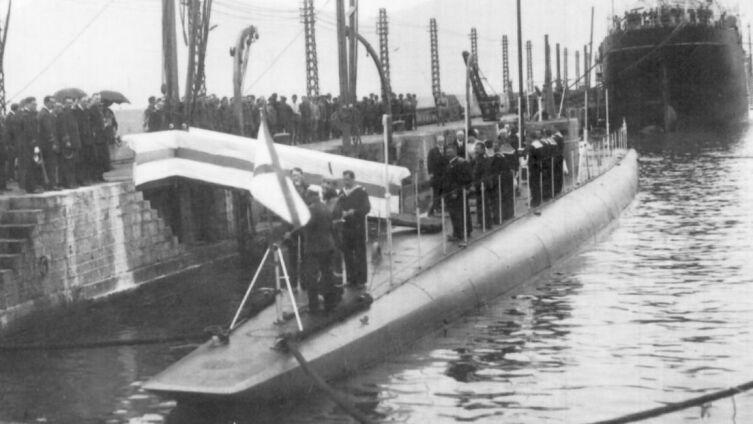 Подводная лодка «Святой Георгий», 1917 г.