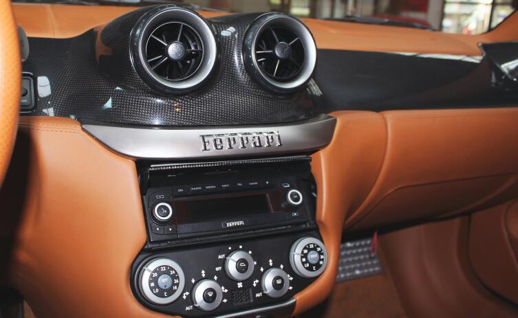 Кондиционер в Ferrari
