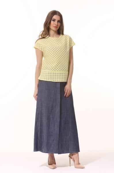 Как выбрать летнюю юбку-макси и с чем ее носить?