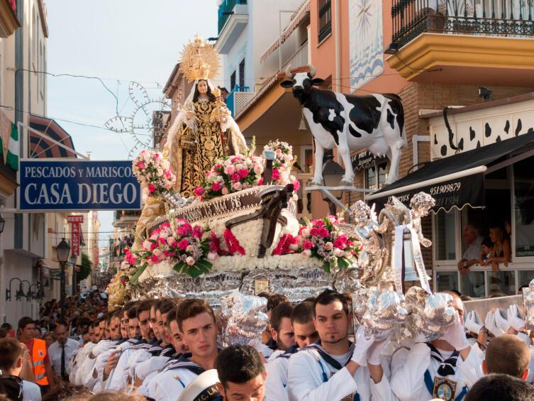 Фестиваль Девы Кармен в Карихуело