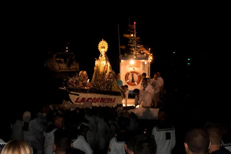 Возвращение Святой Девы Кармен из плавания