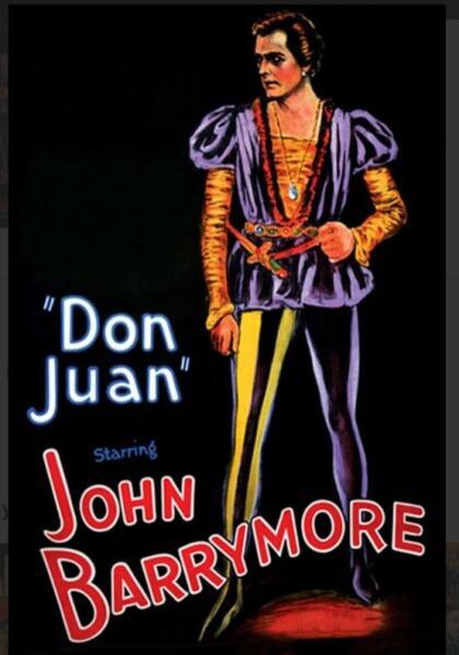 Постер к к/ф «Дон Жуан» 1926 г.