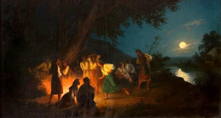 Г. И. Семирадский, «Ночь на Ивана Купалу»