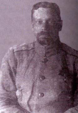 Генерал Каппель во время Великого Сибирского Ледяного похода. Вероятно, последняя фотография Каппеля