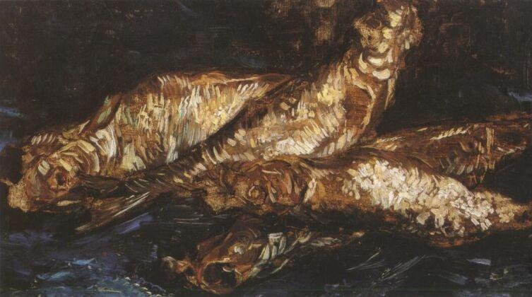Винсент Ван Гог, «Натюрморт с копченой селедкой», 1886 г.