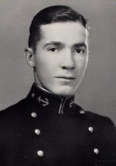 Роберт Хайнлайн в военно-морской академии США, 1929 г.