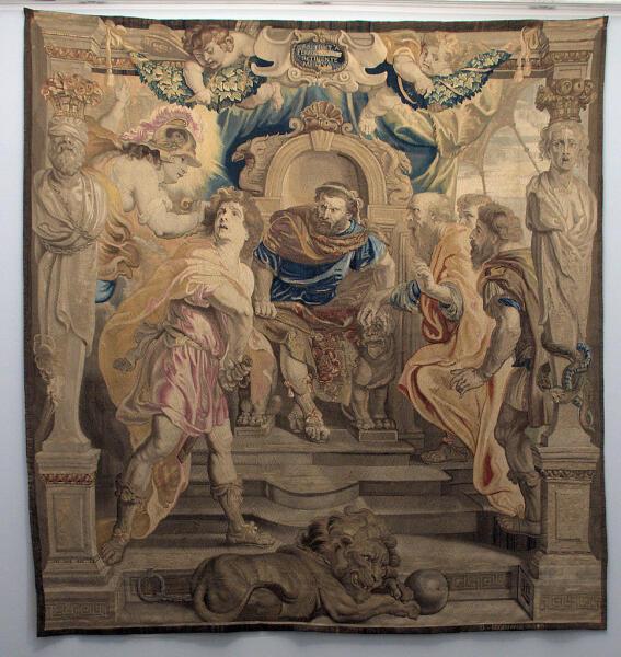 Питер Пауль Рубенс, «Гнев Ахилла», 1630 г.