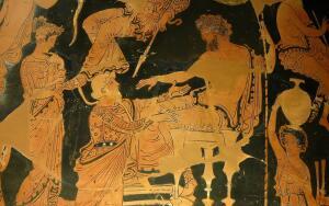 Ахилл, Агамемнон и прорицатель. Что они обсуждали?