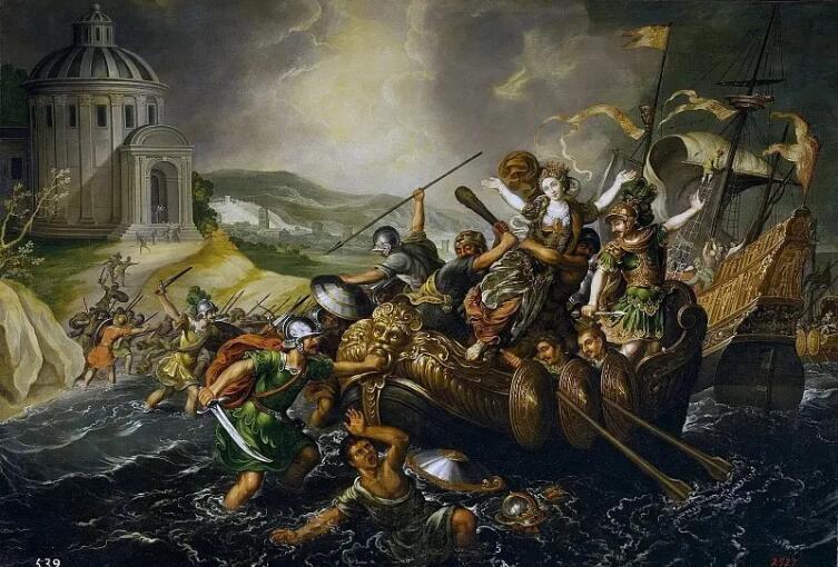 Хуан де ла Корте, «Похищение Елены»
