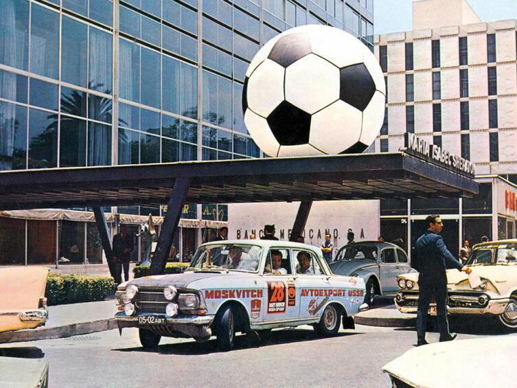 1970 Лондон - Мексика Чемпионат мира по ралли