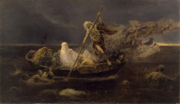 Хосе Бенльуре-и-Хиль, «Река забвения»