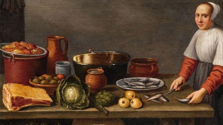 Флорис Герритс ван Схотен, «Кухонный натюрморт»