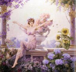 Как появилась богиня Флора и что такое флоралии?