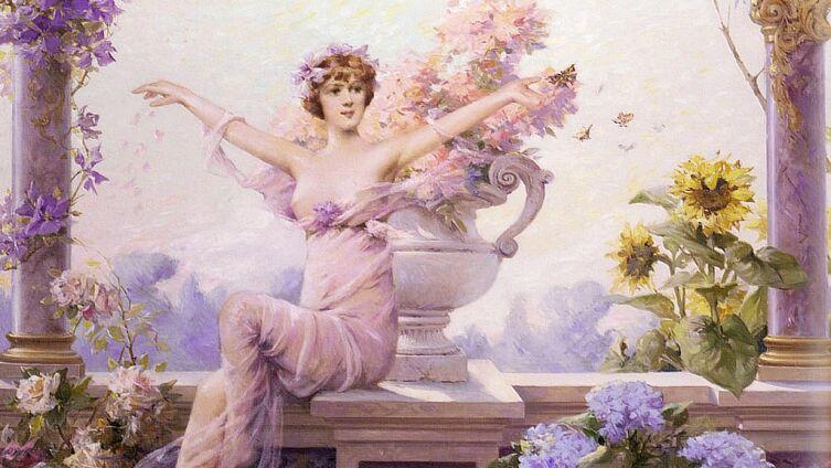 Луиза Аббема, «Флора», 1913 г.