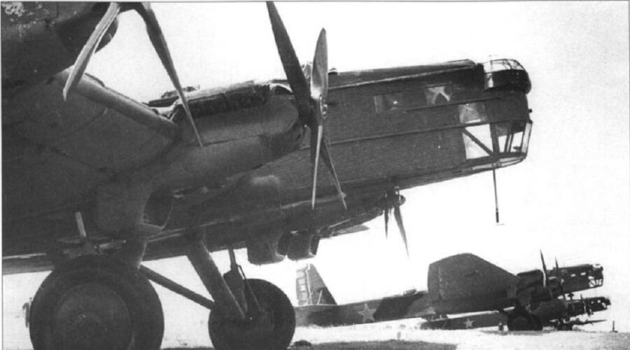 Советский бомбардировщик ТБ-3 высотной модификации