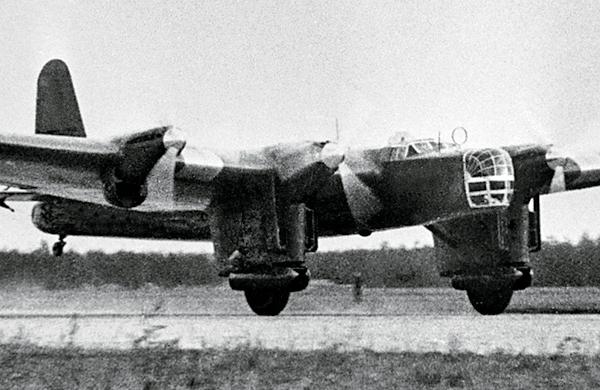 ДБ-А бортовой № Н-209 экипажа С. Леваневского