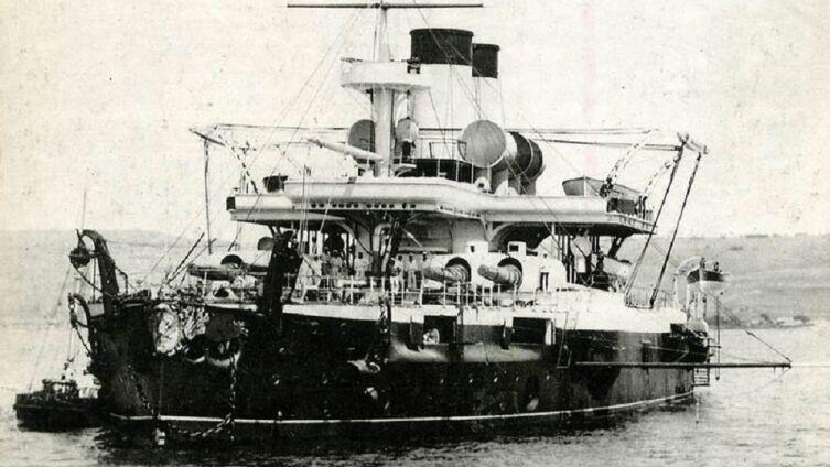 Броненосец «Чесма», Россия, 1887 г.