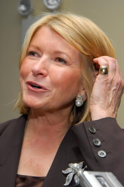 Марта Стюарт, американская бизнесвумен