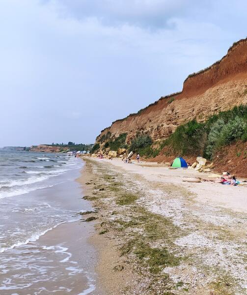 Как выглядят украинские черноморские курорты?