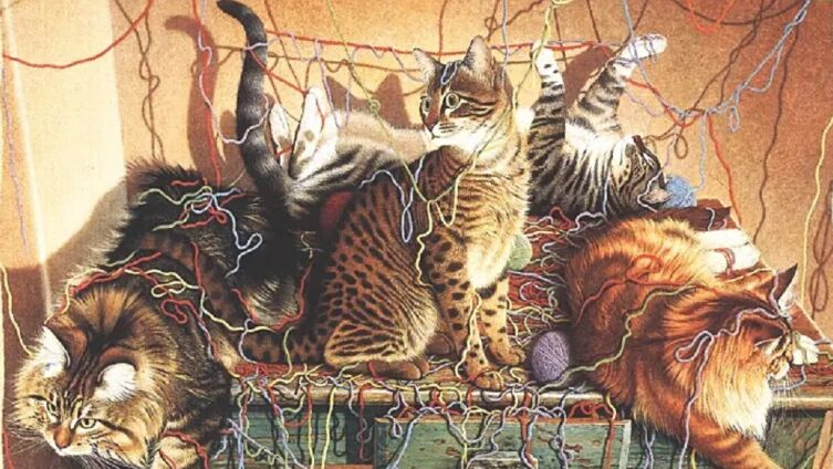 Лоуэлл Эрреро, «Котята» (фрагмент)