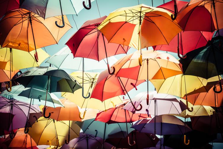 Чем поднять себе настроение в дождь?