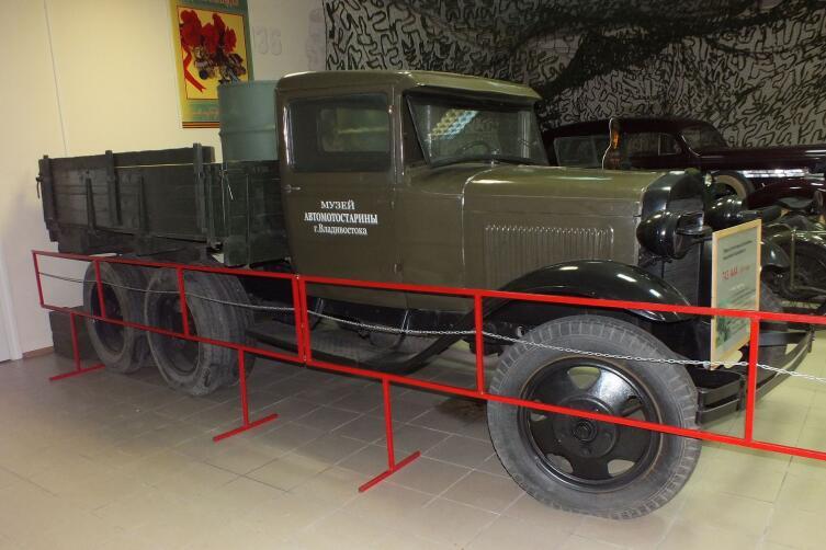 ГАЗ-ААА во Владивостокском музее автомотостарины