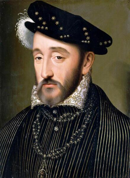 Франсуа Клуэ, «Король Франции Генрих II Валуа»