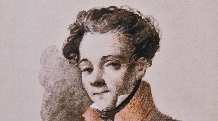 П. Л. Яковлев, «Антон Антонович Дельвиг», конец 1810-х гг.