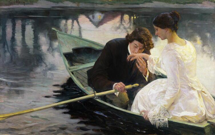 «…Наташа, а Вас никогда не били веслом...»