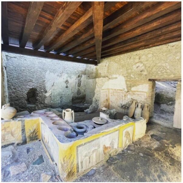 Столовая в Помпеях
