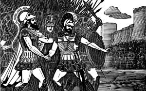 Менелай ранен. Ахейцы в тревоге: что будет дальше?
