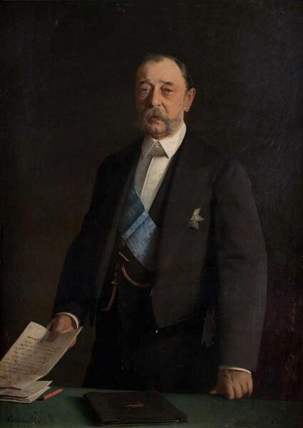 И. Н. Крамской, «Министр внутренних дел Российской империи граф Дмитрий Андреевич Толстой», 1884 г.