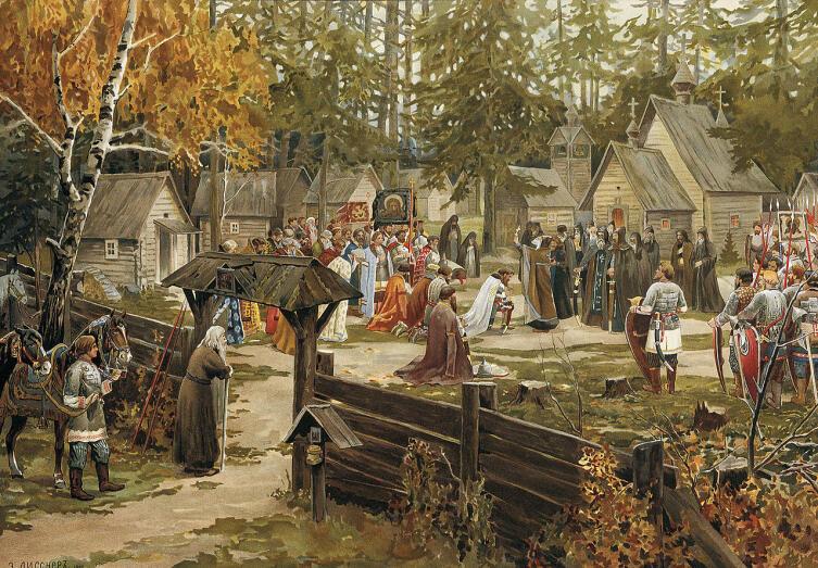 Эрнест Лисснер, «Троице-Сергиева лавра»