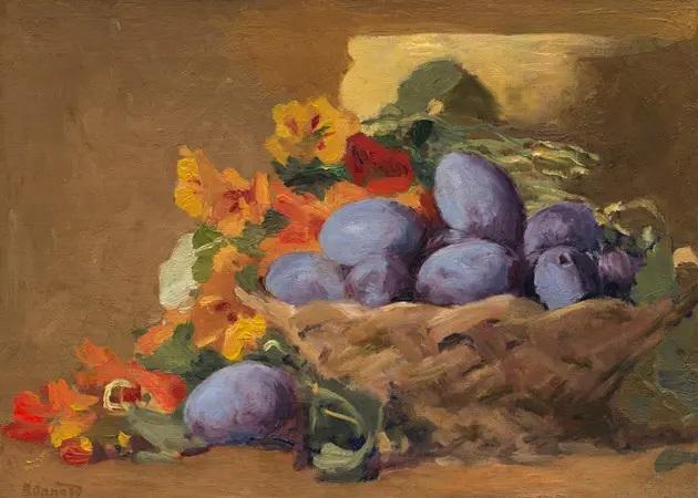 Пьер Боннар, «Сливы», 1892 г.