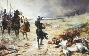 Как битва при Креси показала, что век рыцарства заканчивается?